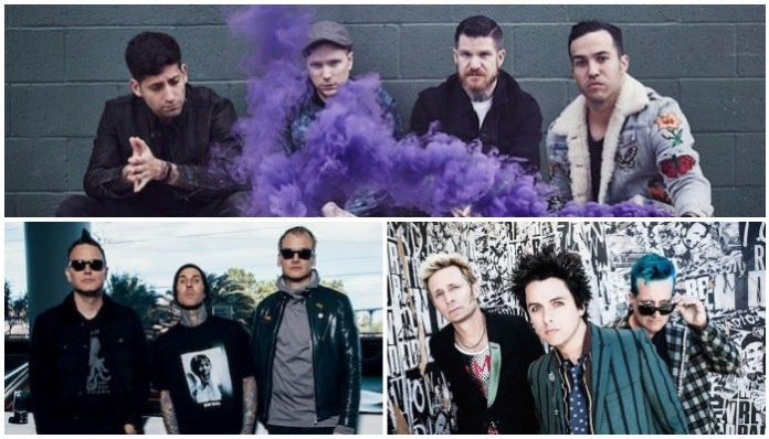 fall out boy blink 182 green day quiz
