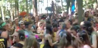 Firefly Festival Silent Disco Emo Nite LA