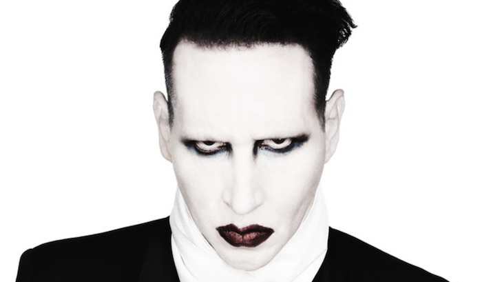 Marilyn Manson goes gold with 'The Nightmare Before Christmas' cover