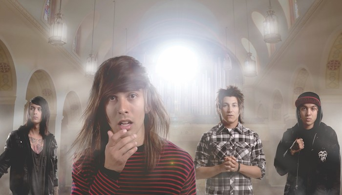 Pierce The Veil on their innery machinery, almost a decade later
