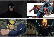 scene superheroes