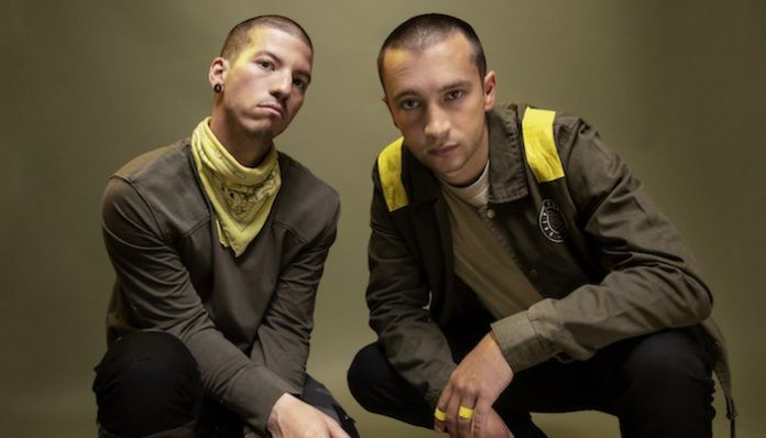 twenty one pilots trench 2019, tyler joseph, josh dun, pet cheetah