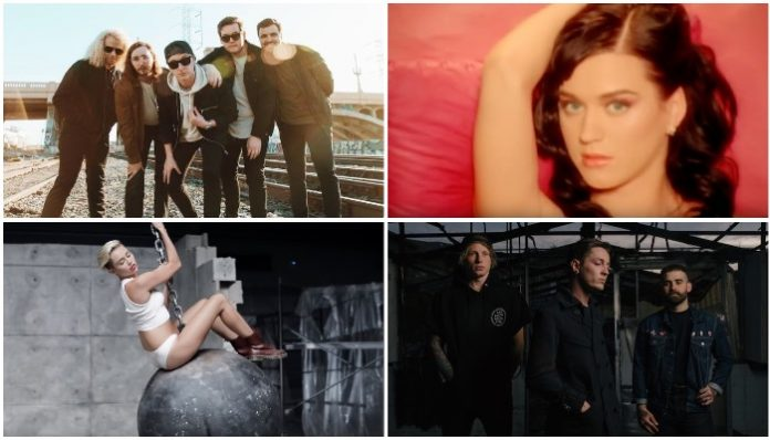 Can you match the correct band to the 'Punk Goes Pop' cover?