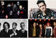 biopic header slipknot panic at the disco the 1975 my chemical romance