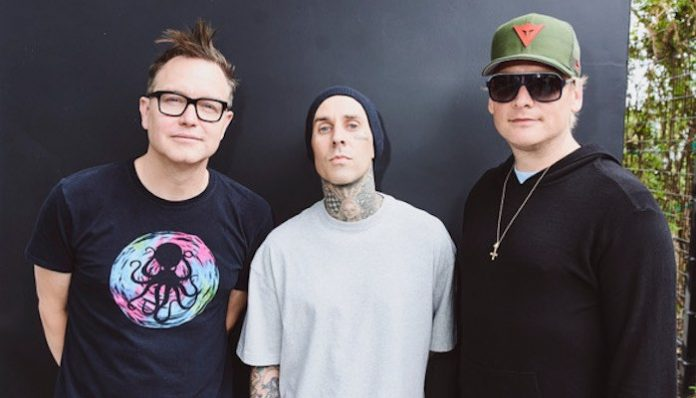 blink-182, christmas, travis barker