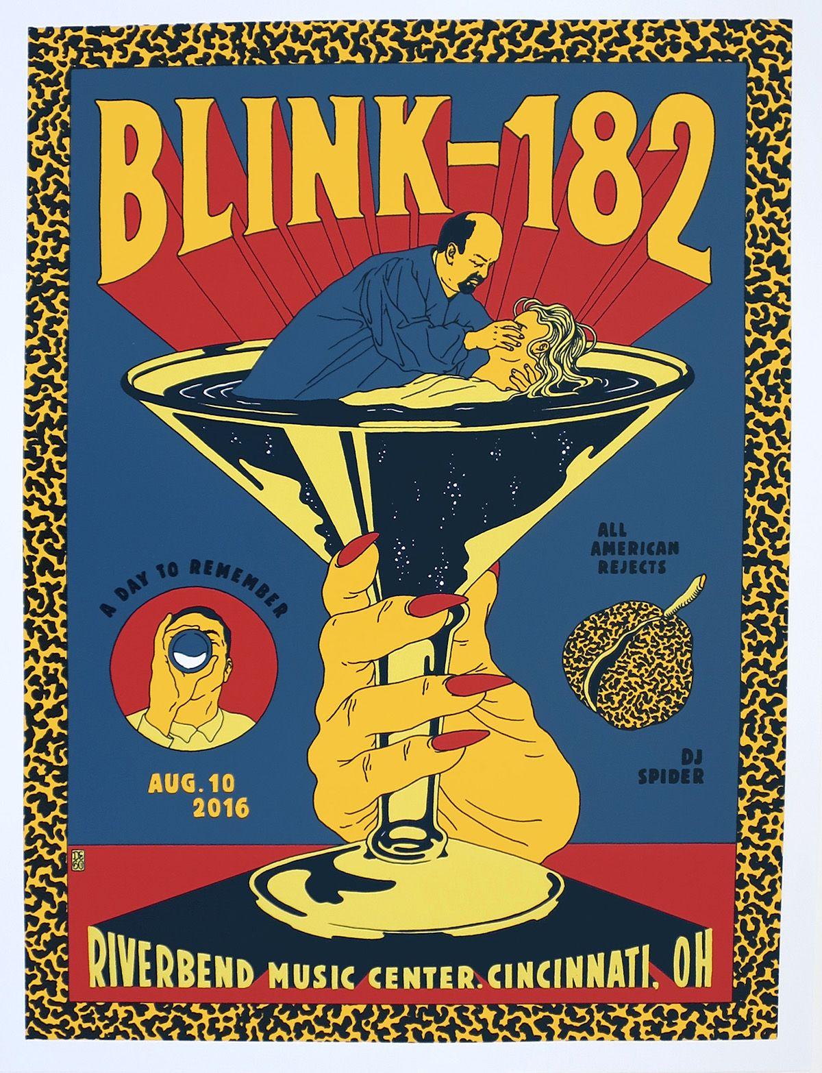 blink-182 cincin