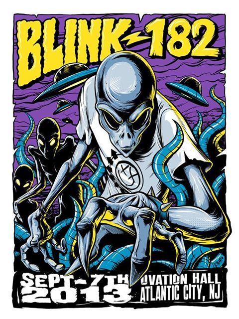 blink-182 ovation hall alien