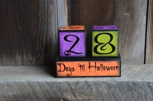 Halloween Advent Blocks