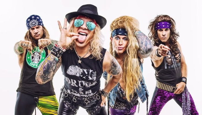 Steel Panther share 'Hangover'-inspired video, announce new