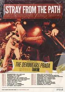Stray From The Path UK tour