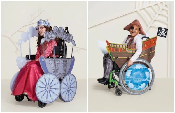 target wheelchair accessible costumes