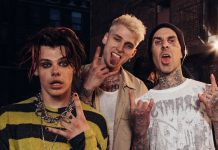 Travis Barker machine gun kelly MGK Yungblud