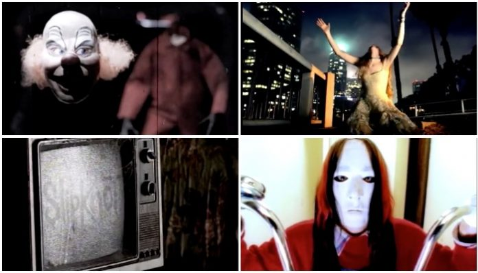 Can you identify the Slipknot video from a single screenshot?