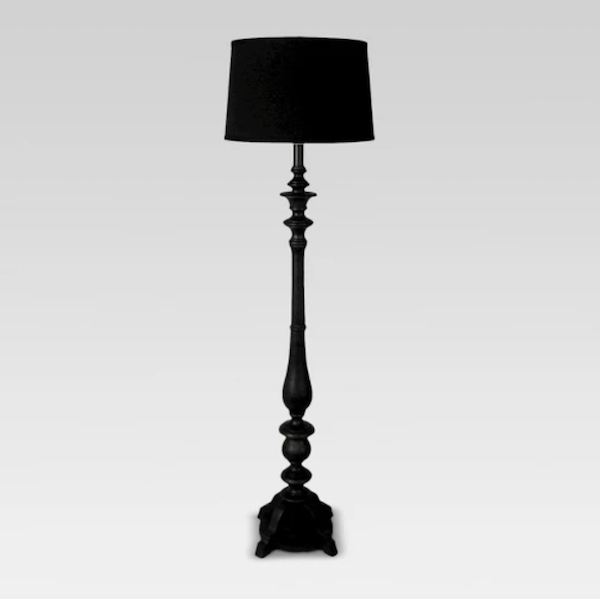 goth decor lamp