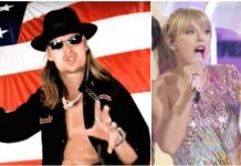 Kid Rock, Taylor Swift