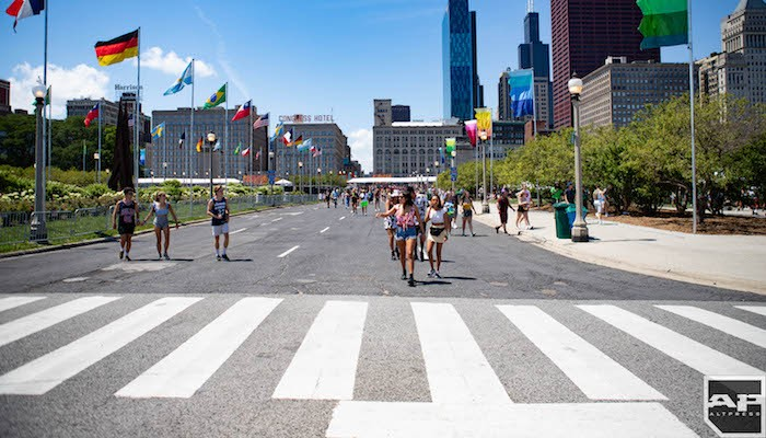Lollapalooza attendee dies after being transported in critical condition