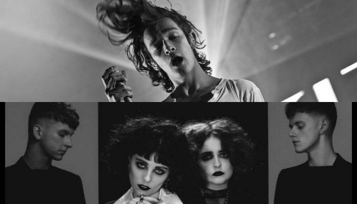 The 1975 frontman Matty Healy, Pale Waves tease upcoming collab