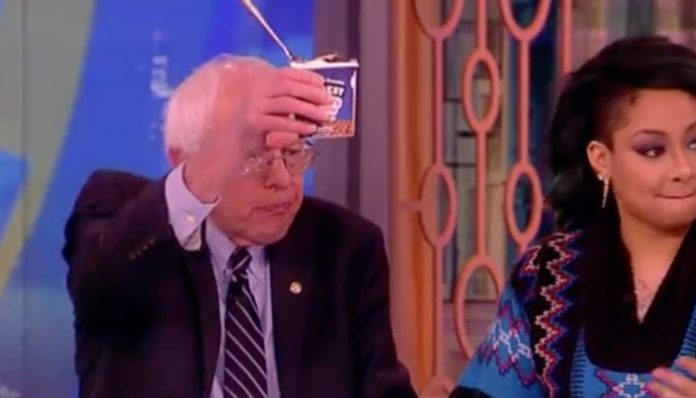 bernie sanders ice cream