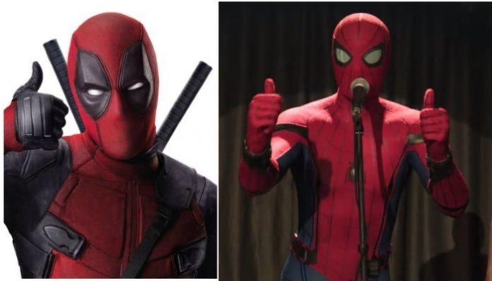 Spider-Man, Deadpool, Ryan Reynolds