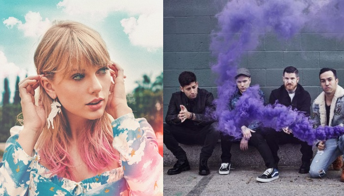 "Fall Out Boy influenced Taylor Swift lyrically ""more than anyone else"""