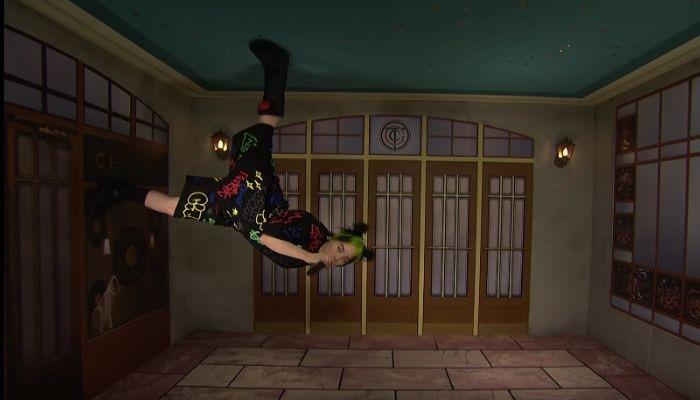 Billie Eilish turned 'SNL' upside down - literally