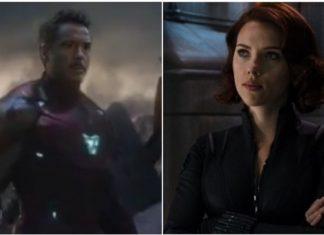 Black Widow, Iron Man