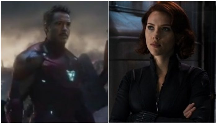 Black Widow, Iron Man
