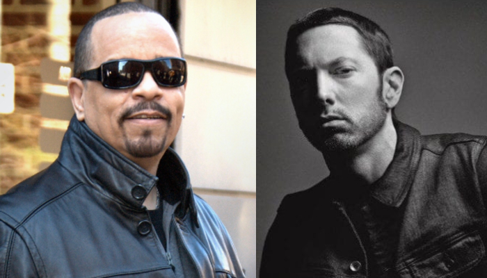 "Ice-T recalls meeting Eminem on Warped Tour: ""Kids were booing him"""