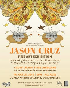strung out jason cruz art show