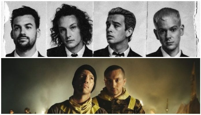 the 1975 twenty one pilots