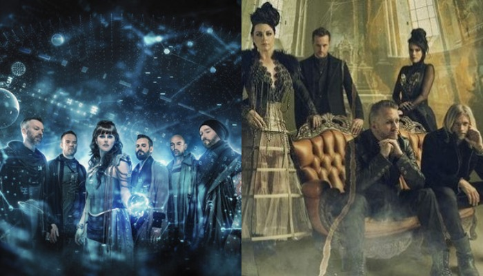 Evanescence Tour 2020.Evanescence Reveal 2020 Worlds Collide Tour With Within