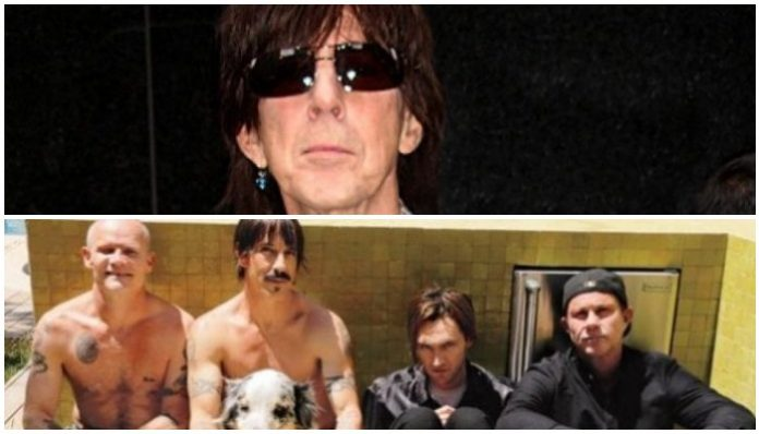Red Hot Chili Peppers the cars