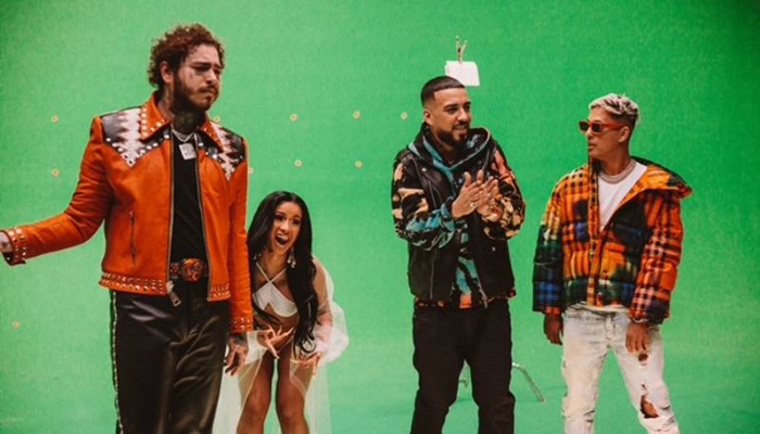 """Post Malone is larger than life in French Montana's """"Writing on the Wall"""""""