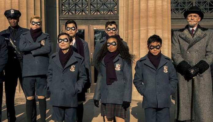 the umbrella academy children