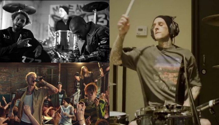 Which Travis Barker feature do you need to jam out to today?