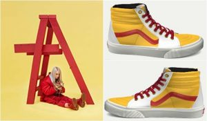 Billie Eilish Dont Smile At Me vans customs