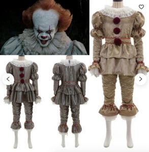 pennywise it halloween costume