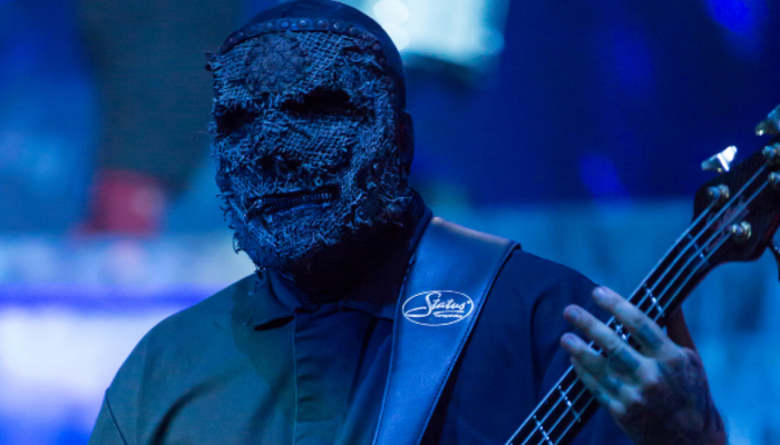 Slipknot bassist says he switched instruments to join the band