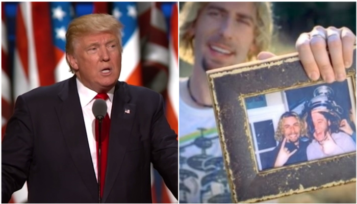 Donald Trump Nickelback meme video was removed by Twitter