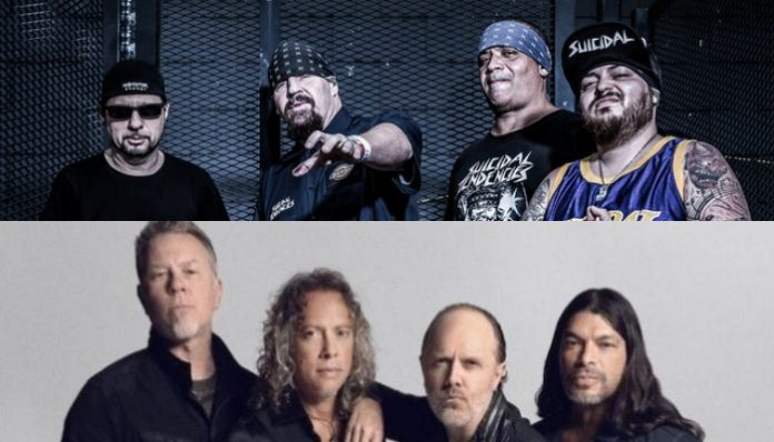 suicidal tendencies metallica