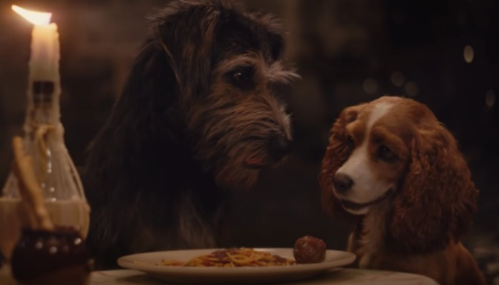 'Lady And The Tramp' trailer brings iconic spaghetti scene to life