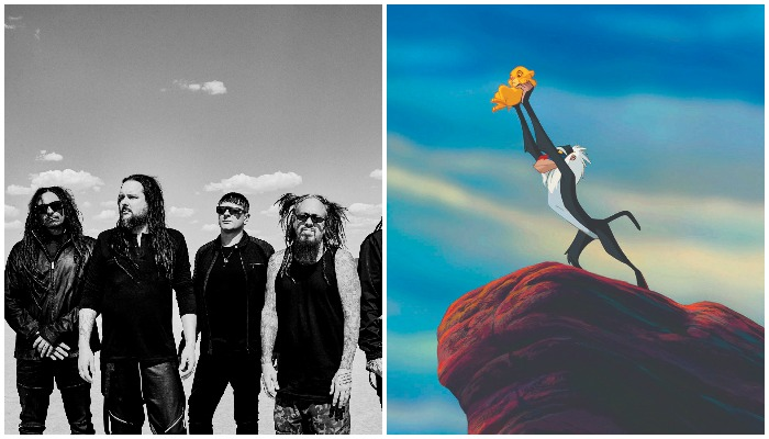 Korn meets 'The Lion King' with this ridiculous mashup of hit songs