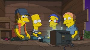 the simpsons stranger things