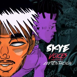 "Skye ""Voices"" featuring XXXTentacion"
