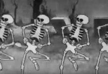 spooky scary skeletons tiktok