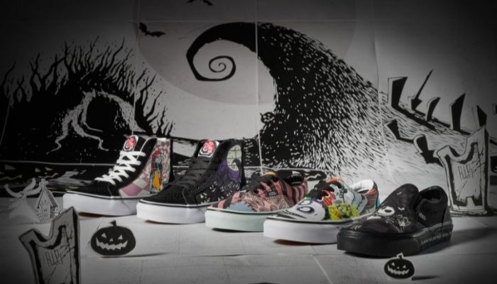 Vans launches custom 'The Nightmare Before Christmas' shoes giveaway