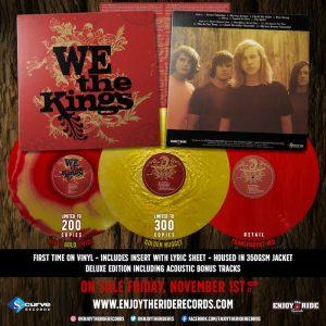 we the kings vinyl reissue