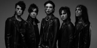 Black Veil Brides 2019 new lineup andy biersack, 2020 tour