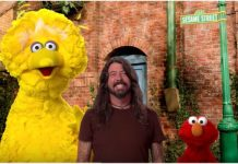 foo fighters dave grohl sesame street big bird elmo
