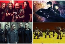 Metal Band Comics Header